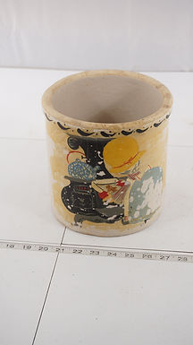 2 Gallons Hand Painted Stoneware Crock