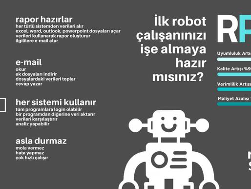Metal Endüstrisinde RPA (Robotic Process Automation) ile Maliyet Azaltma