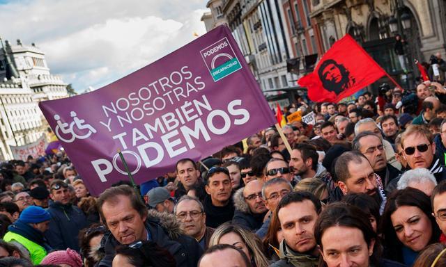 Podemos — Ação nas ruas e nas redes pela democracia plena e contra os golpes financeiros internacio