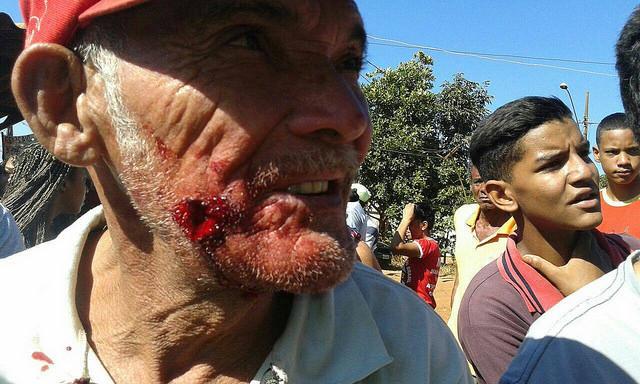 Polícia Militar ataca ocupação em Uberlândia (MG)