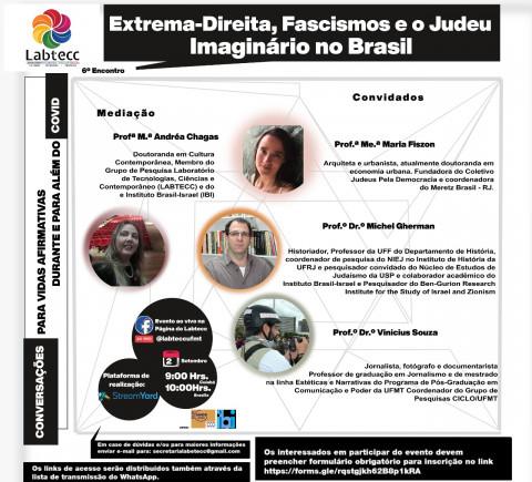 """Professores discutem extrema-direita, fascismos e o """"Judeu Imaginário"""" no Brasil"""