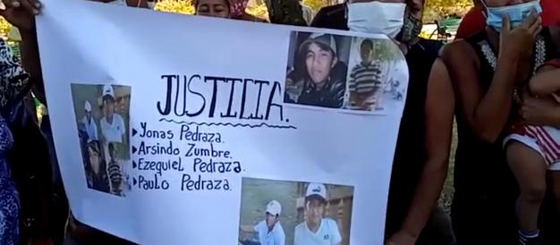 Polícia mata quatro Chiquitanos na fronteira com a Bolívia