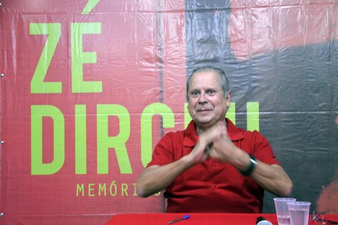 """""""Haverá muita luta e resistência"""", diz José Dirceu sobre governo Bolsonaro"""