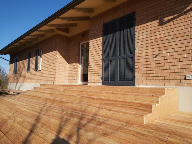 pavimenti in legno a Parma da esterno