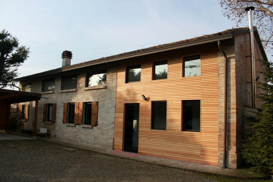 Case in legno a Parma