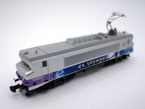 Locomotive série BB15000 - SNCF - Minitrix réf 12294