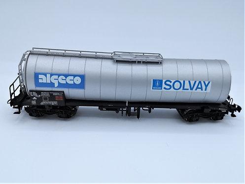 "Wagon citerne SOLVAY ""ALGECO""- Jouef HO"