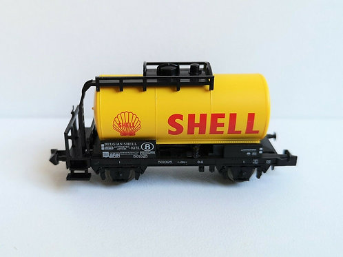 Wagon citerne shell MINITRIX réf 15655-24