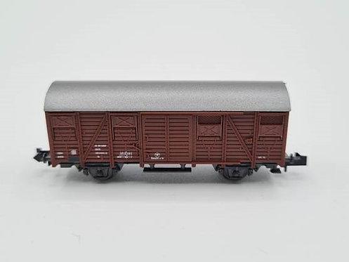 Wagon fermé à 2 essieux - Roco 02329G  N