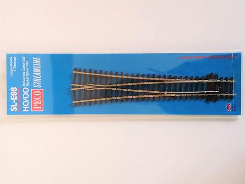 PECO SL-E98 Aiguillage symétrique long électrofrog  HO