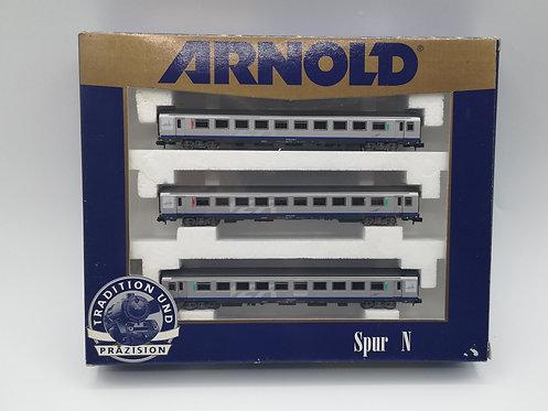 Coffret voitures voyageurs SNCF - Arnold 0386 échelle N
