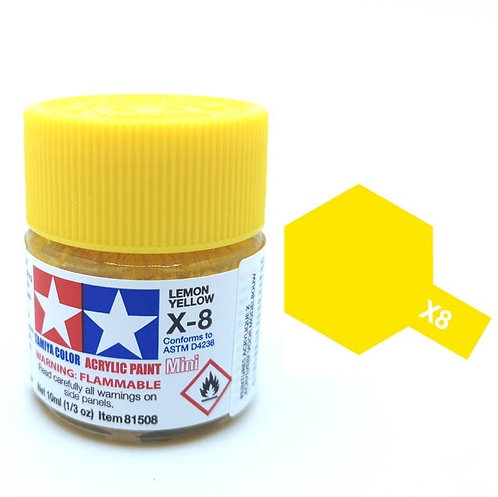 Tamiya X-8 - Jaune citron (10ml)