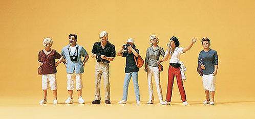Preiser 10468 - Figurines, visite de ville HO
