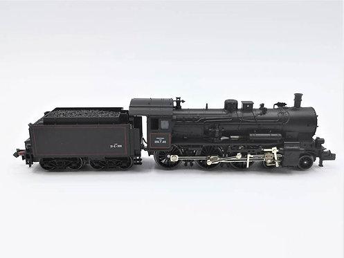 Locomotive vapeur + tender - Fleischmann 94 7167 analogique échelle N