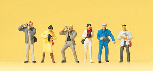 Preiser 14080 Figurines, photographes HO