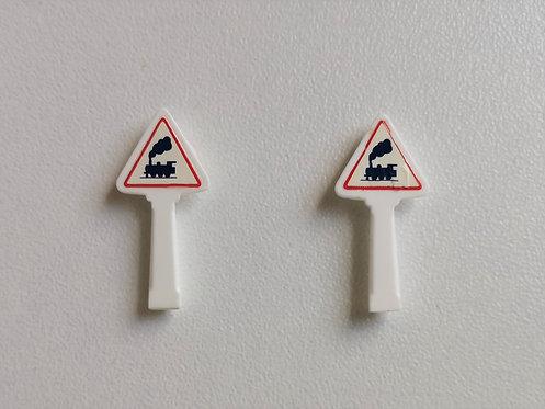 SAI collections réf 8332 Panneaux michelin passage à niveau non gardé HO