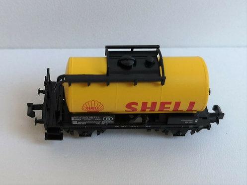 Wagon citerne shell MINITRIX réf 15655-19