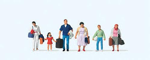 Preiser 10784 Figurines, voyageurs HO