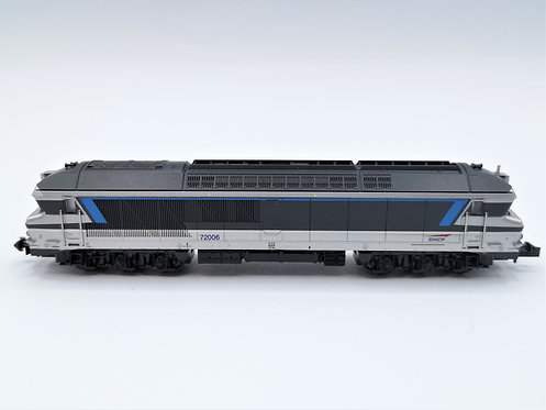 Locomotive diesel CC 72006 SNCF - Minitrix 12780 analogique échelle N