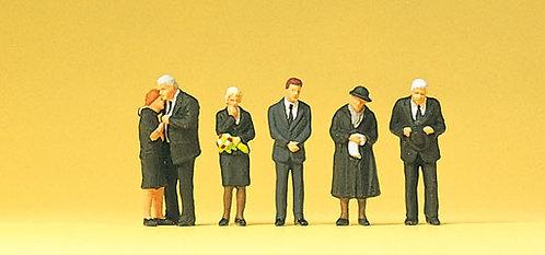 Preiser 10521 - Figurines, funérailles HO