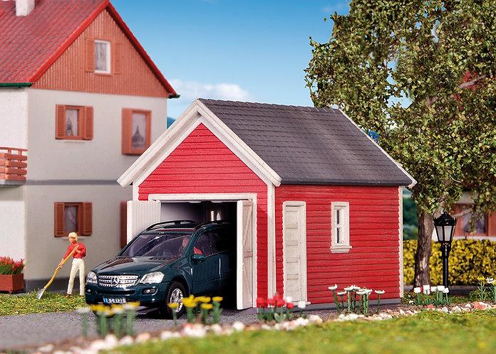 Abri de jardin ou garage HO - Kibri