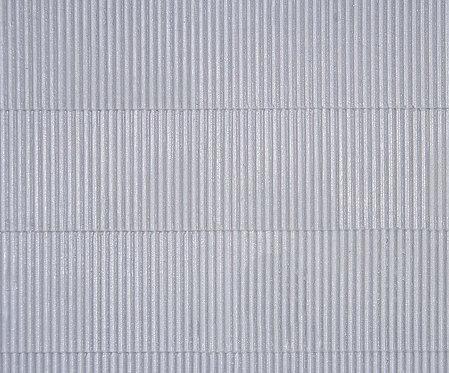 Plaque d'imitation tôle ondulée  HO - Kibri 34143