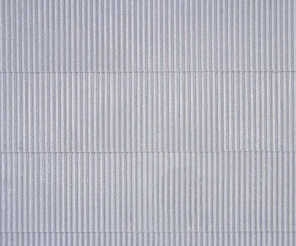Plaque d'imitation tôle ondulée avec faîtage L 20 x 12 cm HO - Kibri 34143