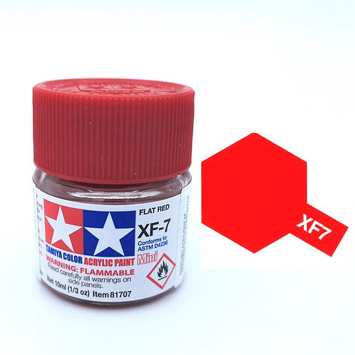 Tamiya XF-7 - Rouge mat (10ml)