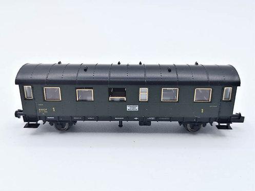 Fourgon voyageurs - Fleischmann 8061F K  échelle N