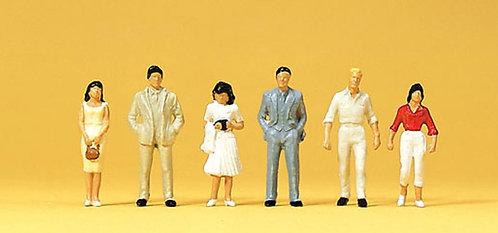 Preiser 14022 Figurines,  promeneurs HO