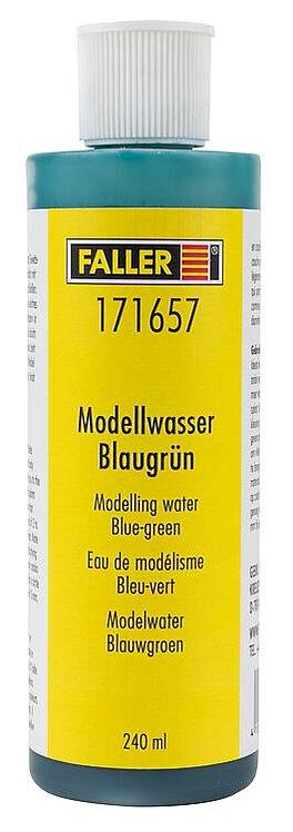 Faller 171657 - eau modélisme, bleu-vert