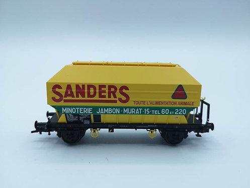 Wagon de céréalier Sanders - REE-Modèles WB-037