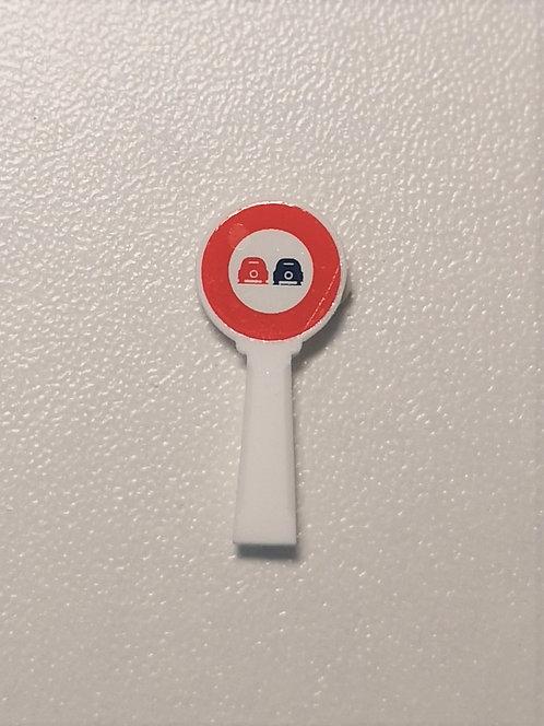 SAI Collections réf 8377 - Panneau michelin, interdiction de dépasser HO