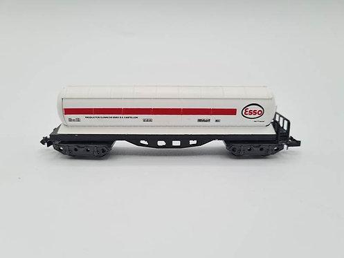 Wagon citerne long  Esso - Ibertren  N