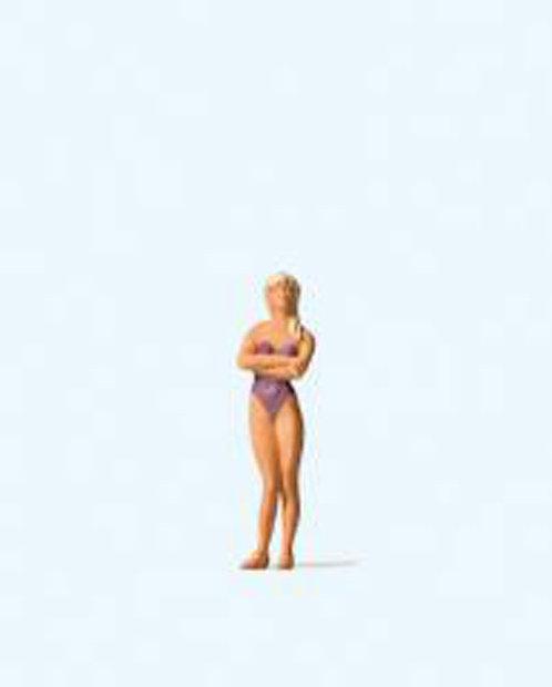 Preiser 28071 -Figurine, femme en maillot de bain