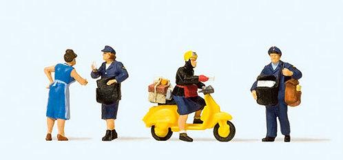 Preiser 10610 Figurines, facteurs HO