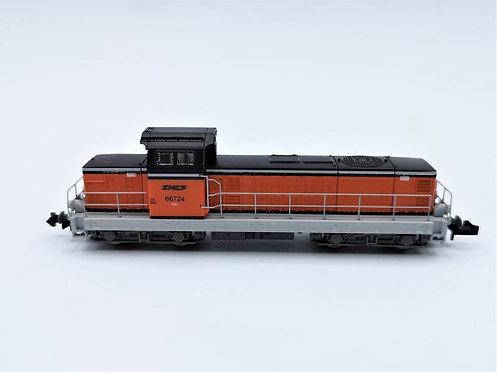 Locomotive BB 66724 - Piko 94111 Analogique, N