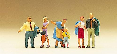 Preiser 10279 Figurines en promenade HO