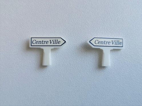 SAI collections réf 8410 Panneaux michelin centre-ville HO
