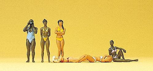 Preiser 10309 - Figurines, baigneurs HO