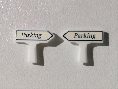 SAI collections réf 8412 Panneaux michelin parking HO