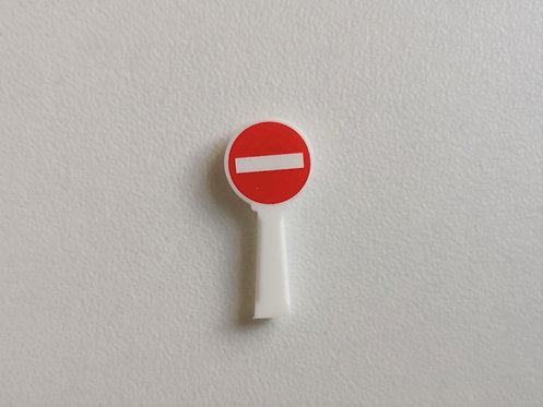 SAI collections réf 8361 Panneau michelin sens interdit HO