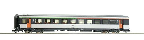Voiture bar voyageurs Corail B5rtux Classe Roco 74535 HO SNCF
