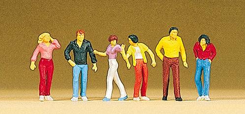 Preiser 10118 Figurines, promeneurs HO