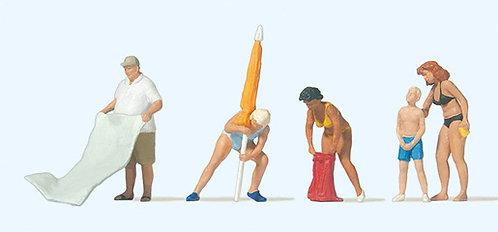 Preiser 10694 Figurines, prêts pour la baignade HO