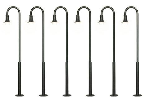 Lot de 6 lampadères - Viessmann 61406