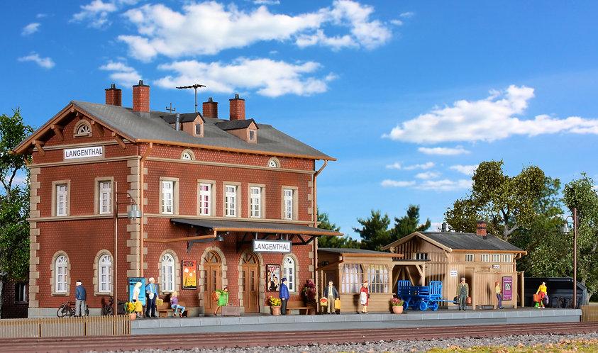 Gare de village HO - Kibri 39504