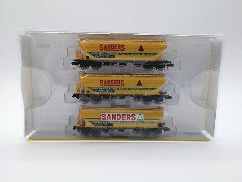 "Coffret wagons ""Sanders"" - Minitrix 15660 échelle N"