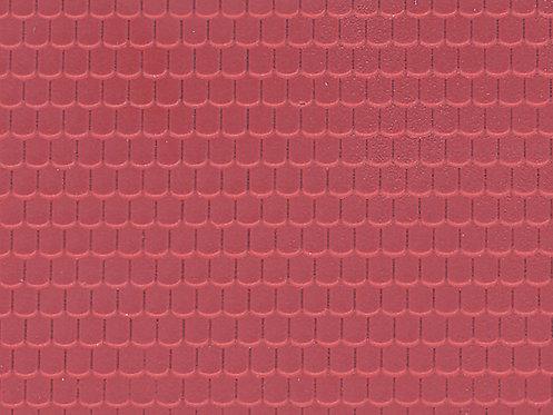 Tuile en plastique HO - Vollmer 46026