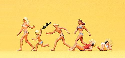 Preiser 10211 - Figurines, à la plage HO